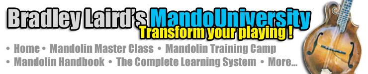 Bradley Laird's Mandolin Books and Learning Materials