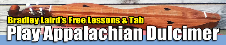 Free Mountain Dulcimer lessons with tab and tuning