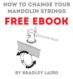 free mandolin lesson eBook how to change strings